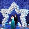 Star Wedding Balloon Arch Kit Star Shape Balloon Stand Long Balloon DIY Arch Frame Rental
