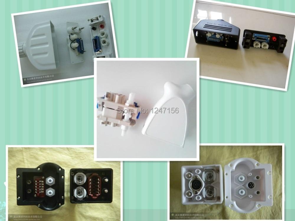 Elight beauty machine handle connector