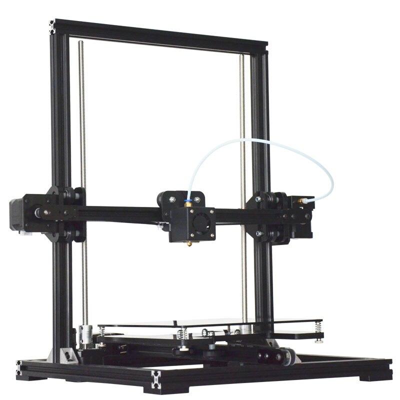 Nouvelle mise à niveau de la Structure en Aluminium Tronxy X3 haute précision Reprap haute vitesse imprimante 3D kits3D imprimante kit de bricolage série