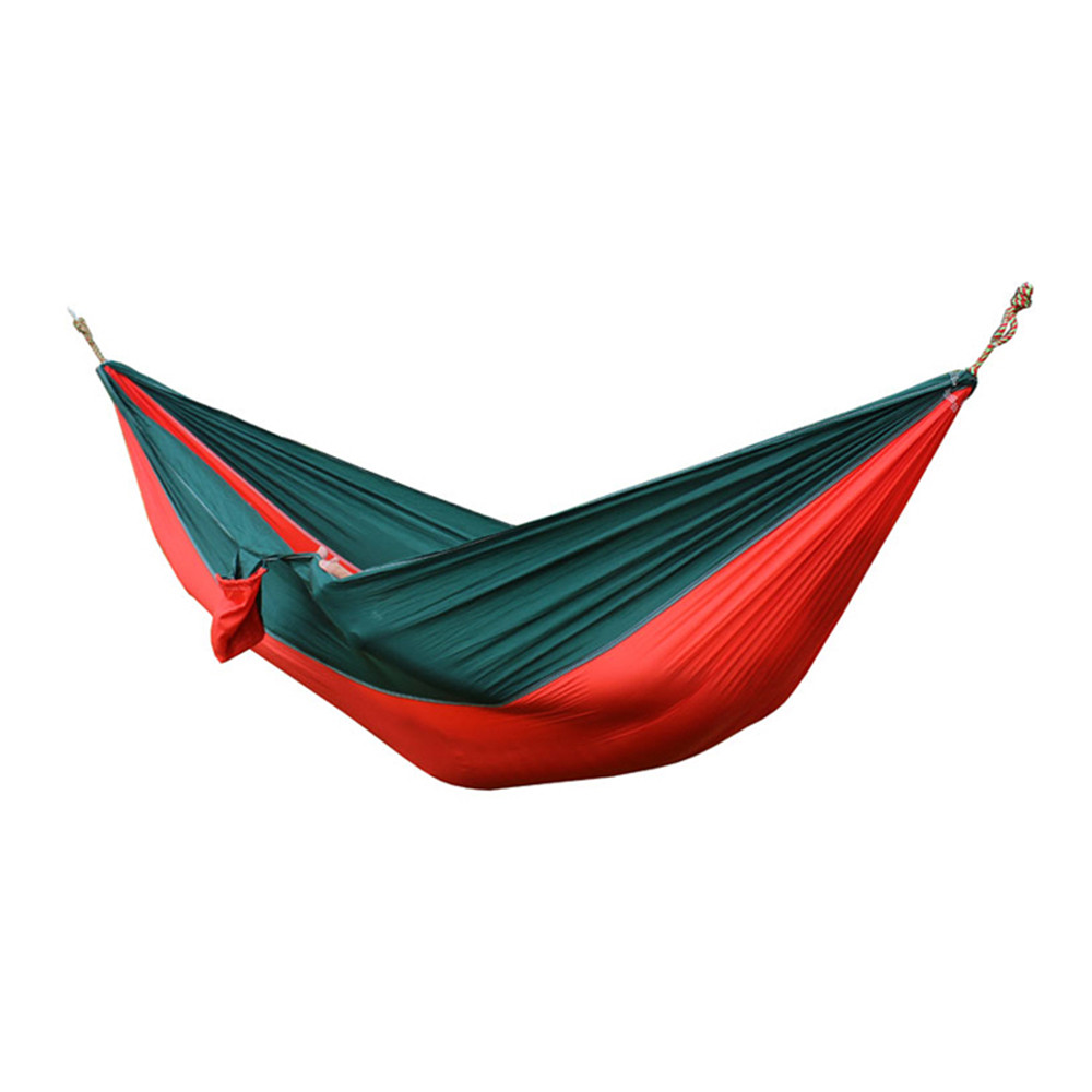 portable nylon parachute double hammock garden outdoor camping travel furniture survival hammock swing sleeping bed for 2 person in hammocks from furniture     portable nylon parachute double hammock garden outdoor camping      rh   aliexpress