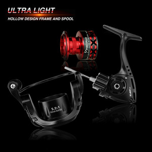 Image 3 - Piscifun Flame Spinning Reel 10 BB 5.2:1 Gear Ratio 9KG Max Drag Graphite Hollow Body Braid Ready Spool Ultra Light Fishing Reel
