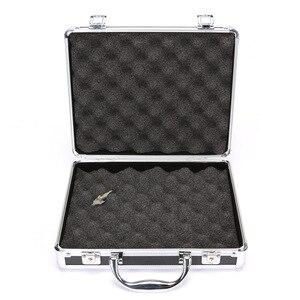 Image 5 - IPSC アルミ合金タクティカルハードピストルパッド入りの泡のためのライニング狩猟エアガングロック黒アクセサリー高品質