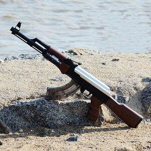Новый электрический игрушечный водный пистолет AK47, пистолет-пули для активного отдыха, ручная винтовка CS, игровой пистолет, подарок для дет...