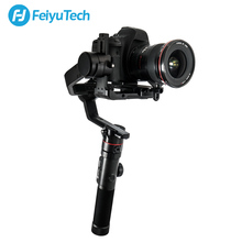 FeiyuTech AK4000 Camera Gimbal Tripod Pole 3-Axis Stabilizer with Follow Focus for Canon 5D Mark III Panasonic SONY