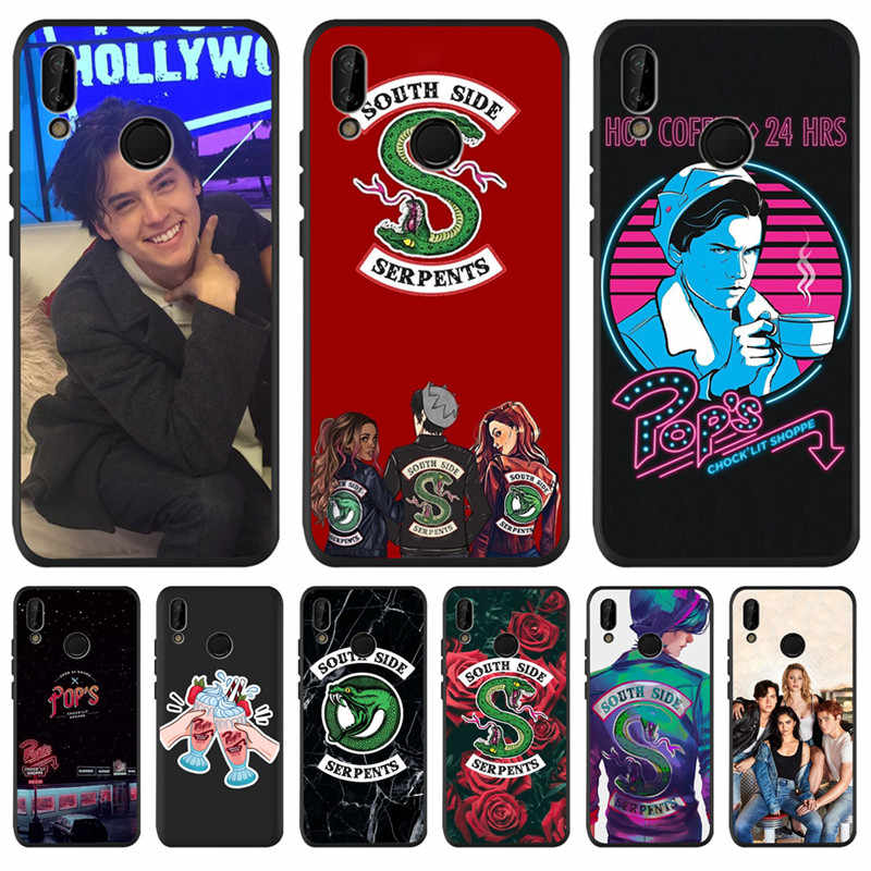 Americano TV Riverdale para Huawei P8 P10 P20 P30 Mate 10 20 Honor 8 8X 8C 9 V20 10 Lite funda Plus Pro