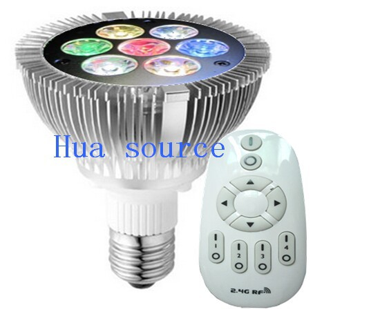 LED PAR30 Remote Controlled Dimmable Lamp Remote Control Lamp LED Coral  Reef Grow Light High Power Fish Tank Lamp In LED Spotlights From Lights U0026  Lighting ...