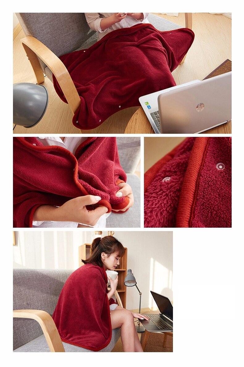 Soft Fleece throw Blanket Swaddle Cover Blanket Wearable Fleece Blanket Bedding Sofa Throws Plaid Bedsheet Bedspread Travel 8