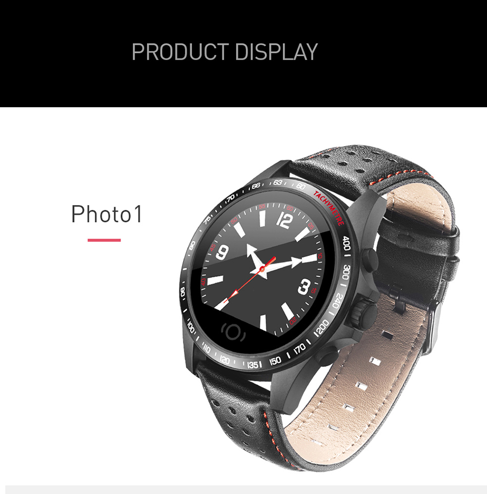 Topdudes.com - Original SANDA Waterproof Smart Sport Watch with Pedometer, Heart Rate Monitor, Blood Oxygen Fitness Tracker etc