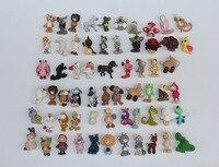 ? 00 unids/lote original nici animales pvc modelo perfecto muchos estilos mezclados