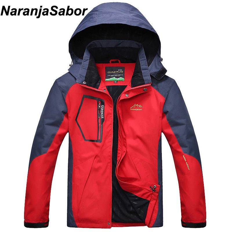 NaranjaSabor 2018 Autumn Mens Jackets Casual Men's Coats Windbreaker Breathable Male Overcoat Waterproof Mens Brand Clothing 5XL