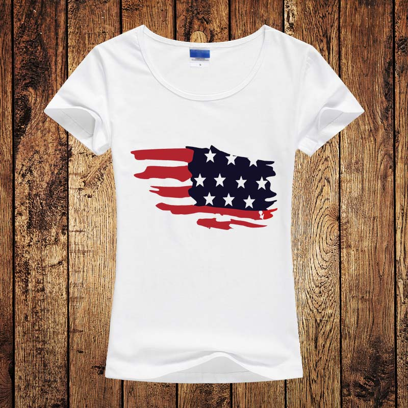 Online Get Cheap American Flag Tee Aliexpresscom Alibaba Group - China map in us flag
