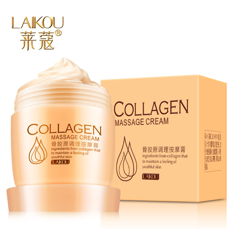 Skin Milk Lotion Cream with Collagen Facial Whiten and Detoxification Skin Care Collagen Body Lotion Detoxify The Body 80g