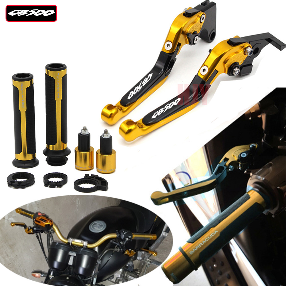 For Honda CB500 CB 500 1998 2003 1999 2000 2001 2002 Motorcycle Adjustable Folding Brake Clutch