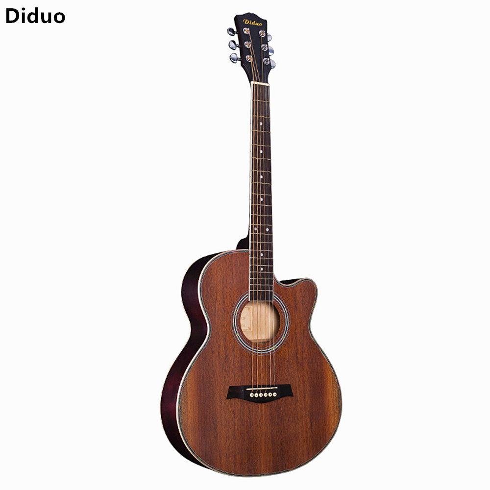 Diduo 41 Inch Acoustic Guitar Folk Sapele Panel Musical Instruments Basswood Six Strings Guitarra Rosewood Fingerboard Unisex