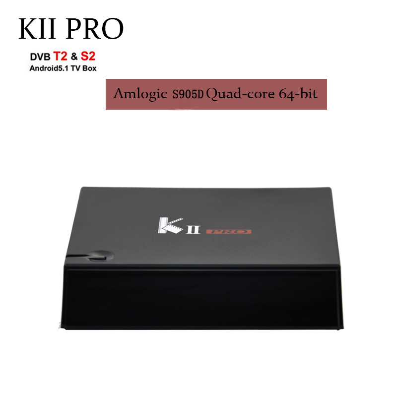 Newest KII PRO DVB-S2 DVB-T2 S905D Android 7.1 TV Box Quad Core 2GB 16GB DVB T2 S2 4K Media player Dual Wifi BT4.0 support iptv android box iptv stalker middleware ipremuim i9pro stc digital connector support dvb s2 dvb t2 cable isdb t iptv android tv box