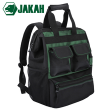 JAKAH Waterproof Tool Backpack With Handbag Tool Bag Tools Storage Bags Multifunction Bags Free Shipping free shipping tool bags oxford waterproof fabric electrical tool bag storage box multi bags tool belt saddle bag ad1030