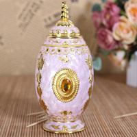 Russian style zinc alloy manual glue hand pressure automatic Home Furnishing KTV fashion ornaments toothpick holder