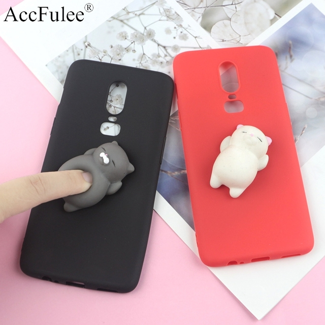 size 40 be388 d4446 US $1.64 13% OFF|Squishy 3D Toys Phone Cat Case For Oneplus 3 3T 5  A5000/One Plus 5T A5010/Oneplus 6 6T Panda Cover Funny Foot Soft Cases-in  Fitted ...