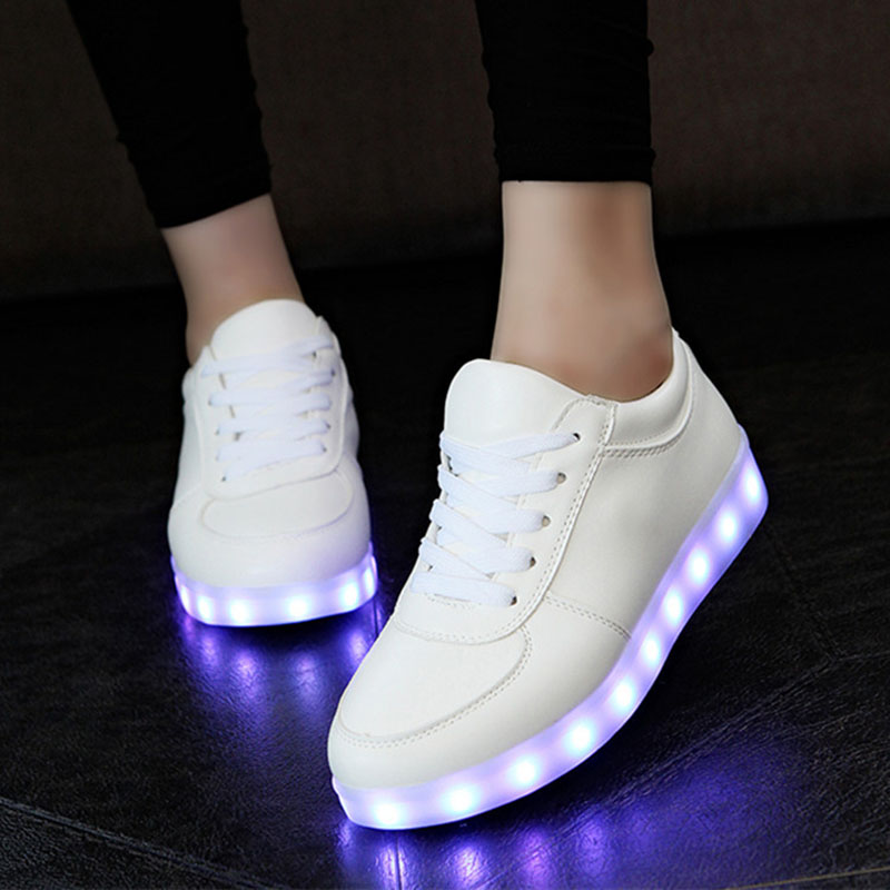 KRIATIV USB Charger Led shoes infant Glowing sneakers Kids