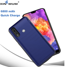 XIN-MUM 6800mAh Smart Battery Charger Case For Huawei P20 Pro PowerBank Case Backup Charger Phone Cases For Huawei P 20 Pro