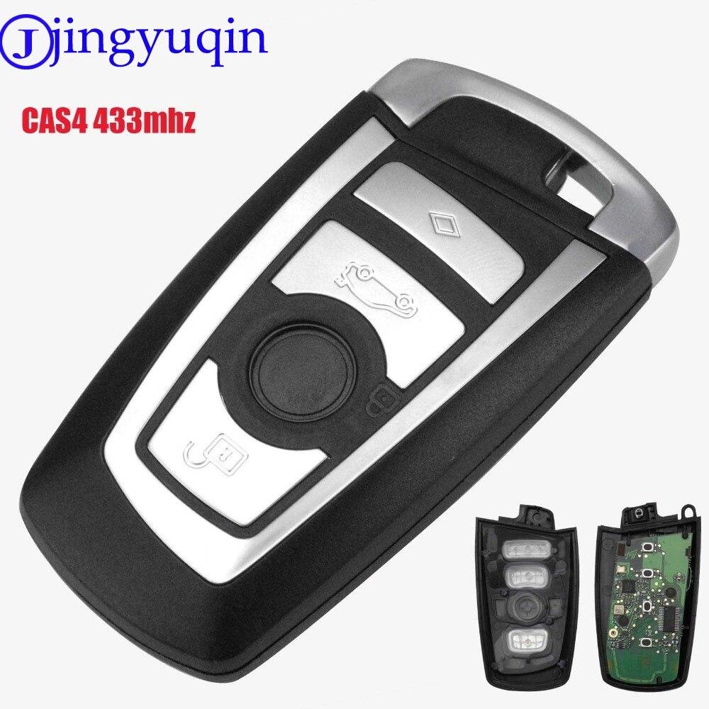 Bmw Car Key Cutting: Jingyuqin Cut Blade 433mhz Car Remote Smart Key For BMW 1