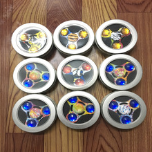 100 pcs/lot Fidget Spinner EDC Tri-spinner Torqbar The Crusaders HandSpinner Decompression Toys /free shipping