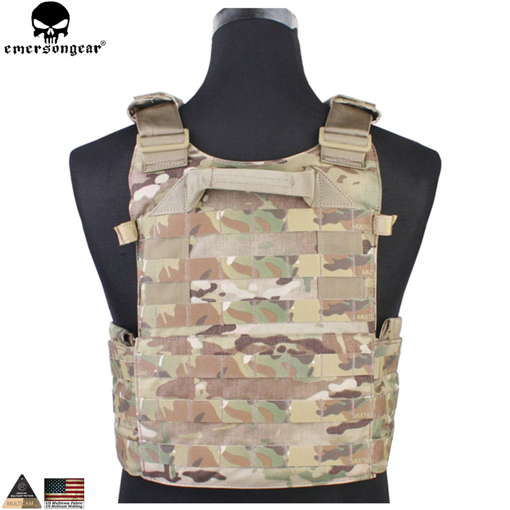 EMERSONGEAR Tactical Modular Vest med Airsoft 094K M4 Mag Pouch - Sportkläder och accessoarer - Foto 3