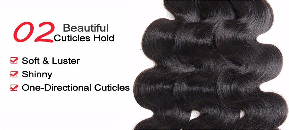 body wave brazilian hair weave bundles