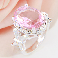 Promotion Oval Pink Natural Shell 925 Sterling Silver Wedding Rings Russia USA Holiday Gift Rings Australia