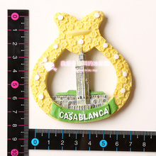 Casablanca travel souvenir refrigerator stickers