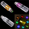 LED Bulb E27 E14 GU10 3W AC85-265V LED Light Bulb RGB 16Colors Changeable Lamp+Remote Control / Crystal Lamp Six Colors