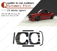 Car Accessories FRP Fiber Glass GP Style Bodykits Fit For 1984 1991 E30 Coupe Body Kit
