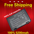 5200mah New Laptop battery for ASUS K50, K50A, K50AB, K50AD, K50AE, K50AF, K50C, K50IJ, K50IN K40, K40E, K40IJ, K40IN