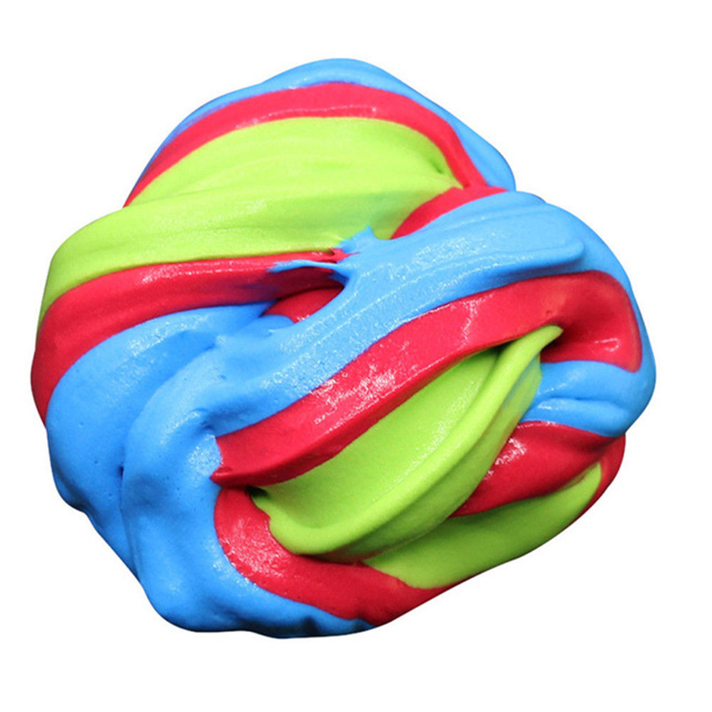 80ml Colorful Fluffy Slime 16
