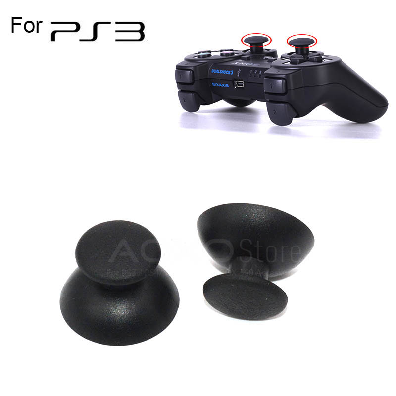 2-pcs-black-analog-joystick-stick-for-sony-font-b-playstation-b-font-ps3-joystick-caps-controller-thumbsticks-for-dualshock-3-replacement-caps