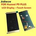 ДЛЯ Huawei P9 Plus/P9plus ЖК-Дисплей + Сенсорный Экран + Рамка + Инструменты Дигитайзер Ассамблеи Замена Аксессуары VIE-AL10