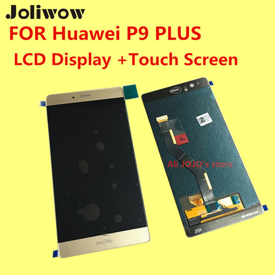 FOR Huawei P9 PLUS/ p9PLUS LCD Display +Touch Screen+Frame+Tools Digitizer Assembly Replacement Accessories VIE - AL10 for huawei p8 lite lcd display touch screen digitizer pantel 5pantalla with frame assembly replacement black white tools