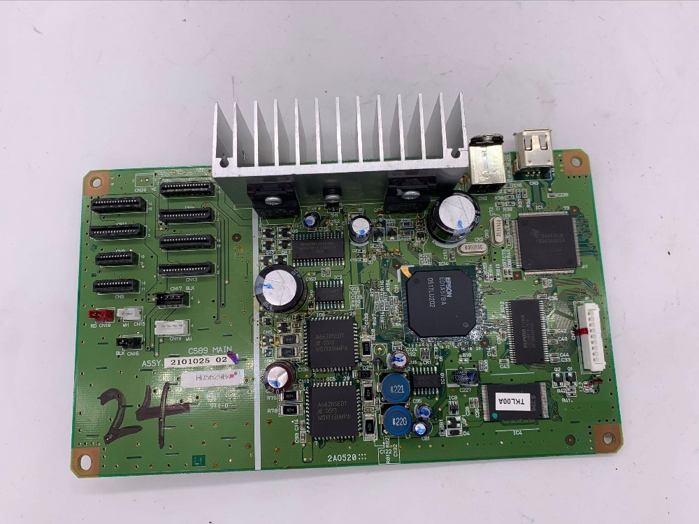 MAINBOARD C589 MAIN BOARD FOR EPSON R2400 2400 PRINTER