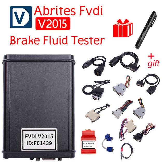 Car-Styling Diagnostic Scanner 2015 FVDI ABRITES Commander With 18 Software In Auto Diagnostic Tool 2014 Version Free shipping
