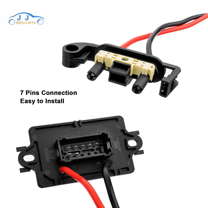 7701207717 лучшее качество Нагреватель двигатель воздуходувка резистор вентилятор для Renault Megane MK II