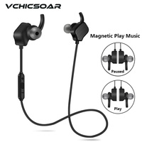 Vchicsoar V3 Bluetooth Earphone With Mic Sport Wireless Headphones V4 1 Stereo Running Noise Reduction Headset