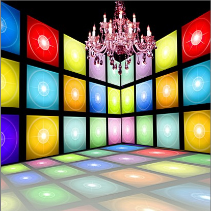 10x10FT Indoor Music Room Lamp Colorful Dance Floor Frames Wall Custom Photography Backgrounds Studio Backdrops Vinyl 3x3m In Background From Consumer
