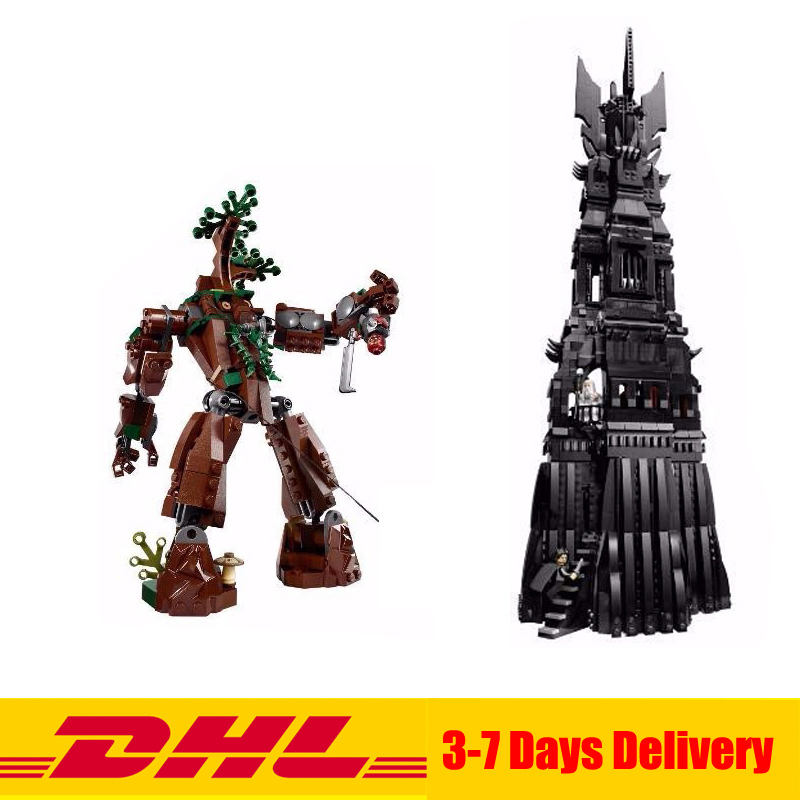 2016 New LEPIN 16010 2430Pcs Lord of the Rings The Tower of Orthanc Model Building Kits Set Blocks Bricks Toys Gift 10237 new lepin 16018 genuine the lord of rings series the ghost pirate ship set building block brick toys 79008 educational toy gift