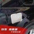 Para Nissan x-trail T31 Aceite Tapa Del Tanque de Combustible Gas Cap Ajuste decoración x trail xtrail 2008 a 2013 Accesorios Del Coche de Acero Inoxidable