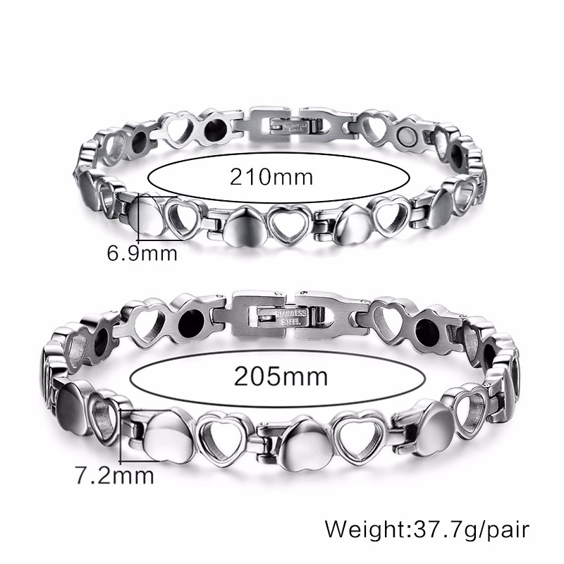 men women Magnetic bracelets 12