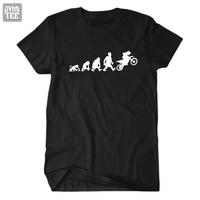 2017new 진화 크로스 T 셔츠 재미 남성 여성 티셔츠 티 옴므