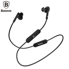 Baseus S30 Bluetooth Earphone For iPhone X Xiaomi Huawei Wireless earphone 5.0 bluetooth wireless headset for phone music