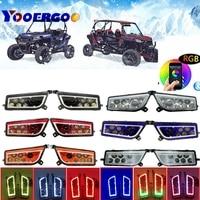 ATV аксессуары OEM фара 2014 2015 2016 Polaris RZR 1000 XP 4 2412335 Polaris RZR 900 светодиодные фары polaris 1000 turbo