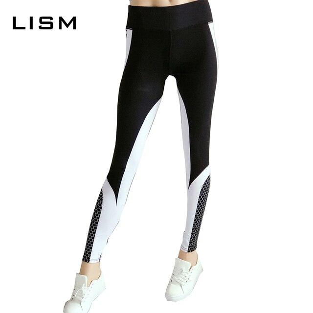 b3e969ddaea4b Vertvie Honeycomb Printed Women Yoga Pants Push Up Fitness Leggings For Yoga  Running Gym Sport Leggings Tight Trouser Leggins