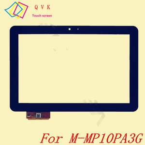 Black 10.1 inch for Mediacom Smartpad 10.1 HD Pro 3G M-MP10PA3G tablet PC replacement touch screen panel digitizer glass(China)